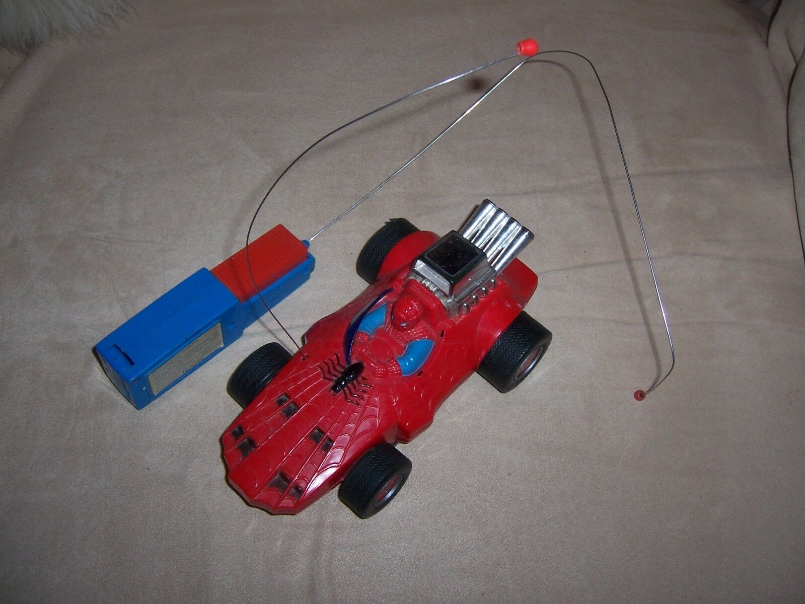 Jahrgang 1977 spiderman ferngesteuertes auto fahrzeug marvel - comics spider - man