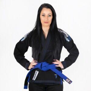 Tatami-Ladies-BJJ-GI-Elements-Ultralite-2-0-Martial-arts-Suit-Uniform-Black