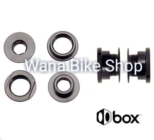 1 set BOX One Fork Adaptor 20mm to 10mm Black
