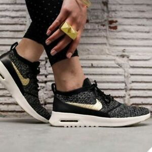 e4e447a89f Nike Air Max Thea Ultra Flyknit Metallic Women's Ladies Trainers 100 ...