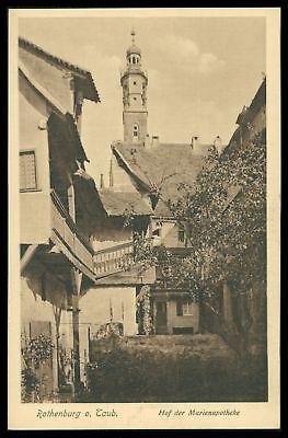 Deutschland Selbstlos Ak Rothenburg Ob Der Tauber Alte Ansichtskarte Foto-ak Postcard Cx40 Die Neueste Mode