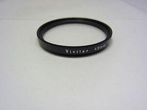 Genuine-VIVITAR-49mm-CLOSE-UP-NO-2-Lens-Filter-Macro-Made-in-JAPAN-6407011