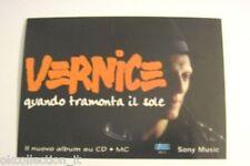 ADESIVO anni '90 vintage / Old Sticker del gruppo VERNICE anno 1994  (cm 11x8)