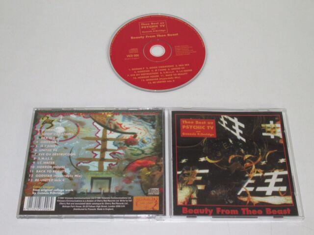 PSYCHIC TV AND GENESIS P.ORRIDGE/BEAUTY FROM THEE BEAST(VICD 006)CD ALBUM
