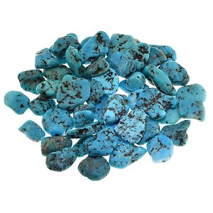 Kingman-Turquoise-Stabilized-Tumbled-Stone-Qty1-10-14mm-B051-2-by-Cisco-Traders