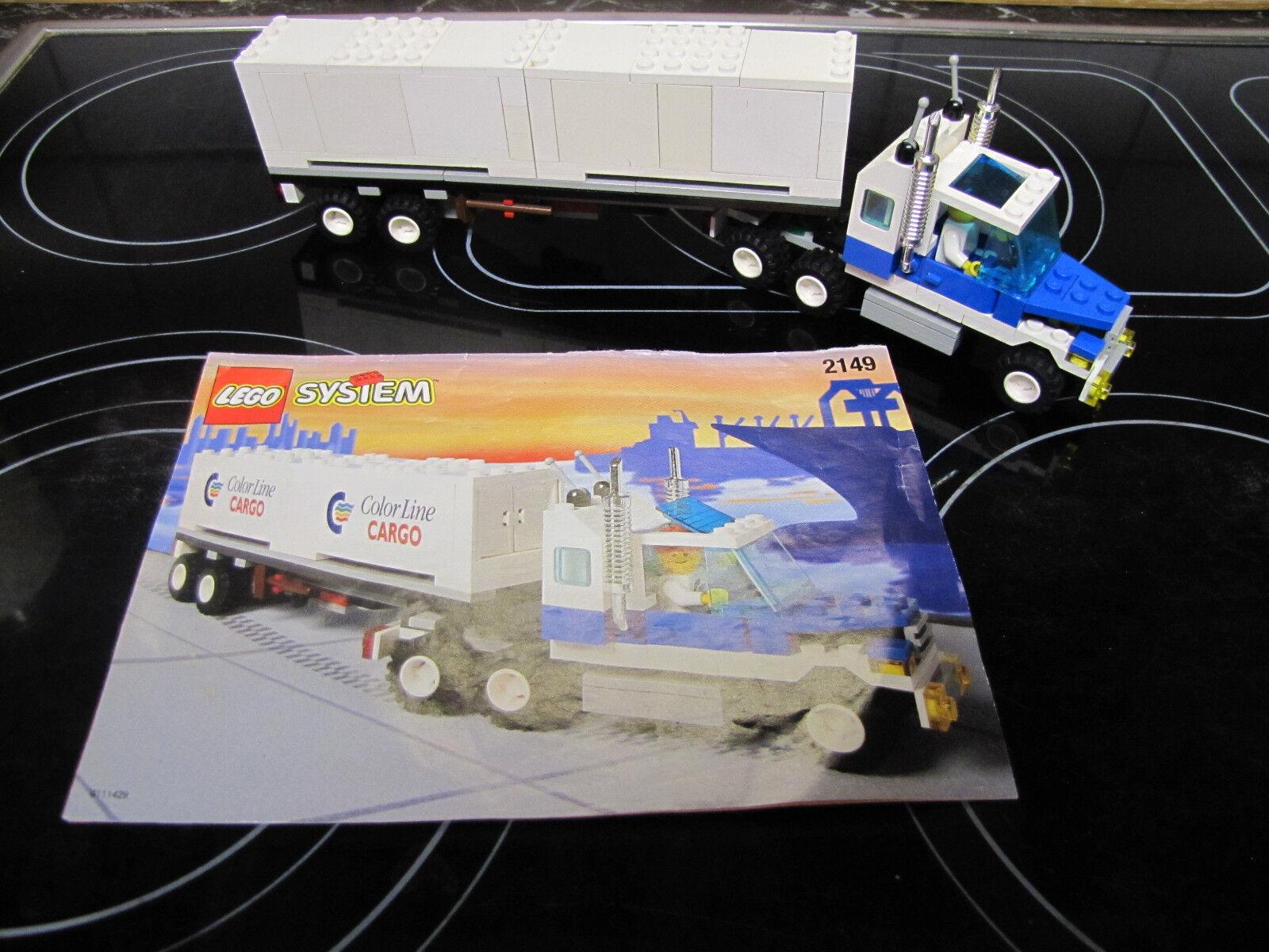 Lego aus Set 2149  Farbe Line Truck Container LKW - nicht komplett m.OBA