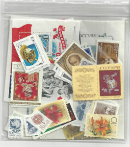 1989-Russia-Stamp-Year-Set-Mint-NH-113-Stamps-6-Souvenir-Sheets-5-MS