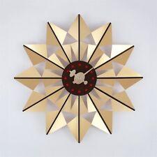 Retro Amazing Gorgeous Gold Modern Style Wall Clock Mid Century