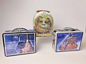 Star Wars Tin lunch Box Vintage Style Birthday gift School lunch box FREE UK P/&P