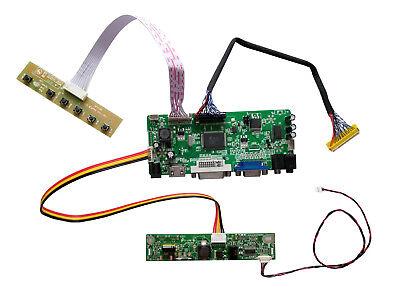 LCD Controller Driver board  for Chimei LTM200KT10 1600×900  TV+HDMI+VGA+USB