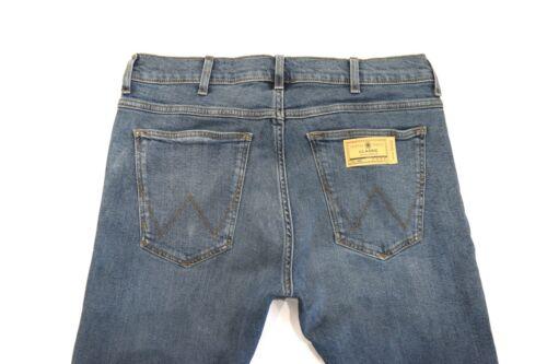 Mens Wrangler Arizona stretch straight fit jeans /'Green haze/' SECONDS WA45