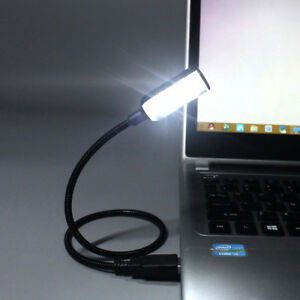 Details About Led Night Light Portable Adjustable Usb Lamp Laptop Desk Book Reading Light