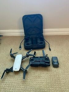 DJI-Spark-Drone-Alpine-White-Excellent-Condition-With-Controller-and-Battery