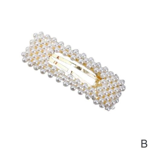 Perle Haarspange Haarspangen Mode Für Frauen Handgefertigte Haarnadeln Neues