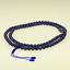 Lapis-Lazuli-Collier-Mala-Grand-Bleu-Afghanistan-Collier-de-Perles-37a miniature 4