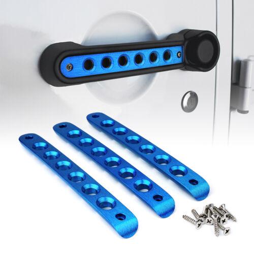 Xprite 3Pcs//5Pcs Door Grab Handle Inserts Cover Trim for 07-18 Jeep Wrangler JK