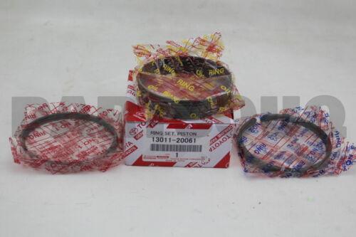 1301120061 Genuine Toyota RING SET PISTON 13011-20061