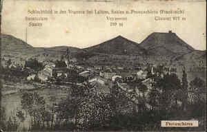 1915-Feldpost-AK-LUBINE-Schlachtfeld-Vogesen-Provencheres-S-B-Briefstempel-1-WK