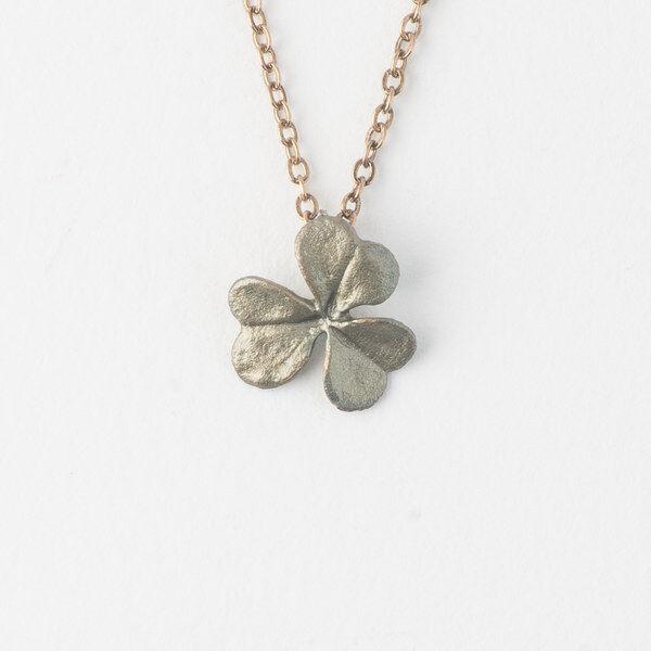 Michael Michaud - Clover Leaf Pendant Necklace - Silver Seasons Jewelry