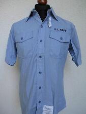 US Navy Board Shirt Feldhemd USN Army Marines USMC WK2 Rockabilly Nose Art Gr XL