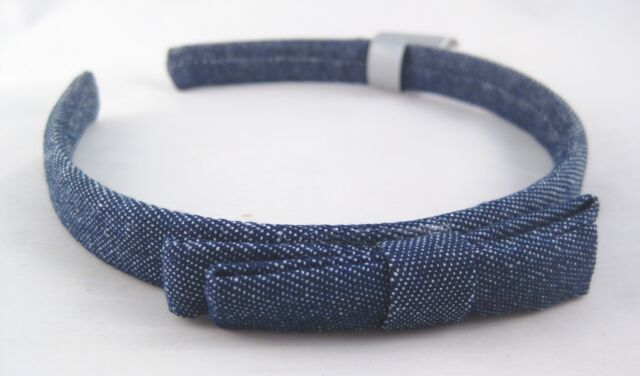 Very Cute New Denim Headband With Bow NWT From Target  H0127 1efa2860fb8