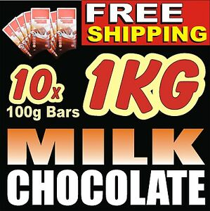 Image Is Loading 1KG 2LB YUMMY MILK CHOCOLATE GIFT BIRTHDAY PRESENT