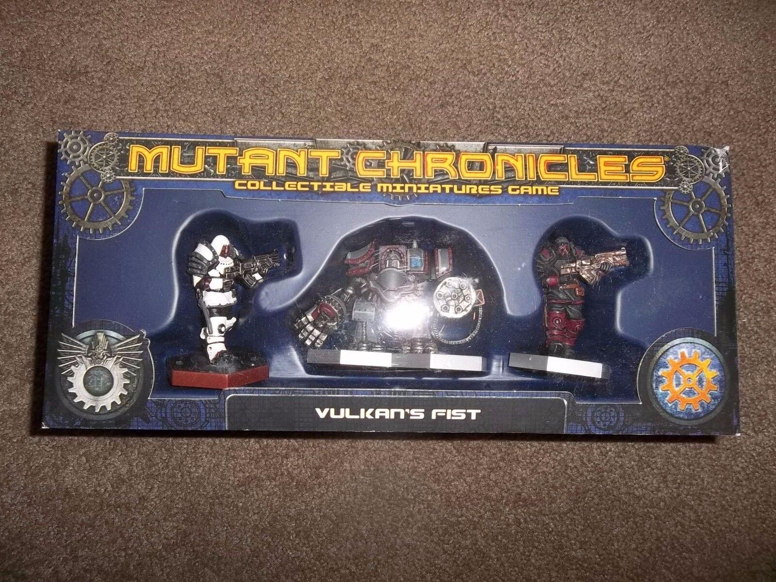 fantasyc volo giocos Mutant Chronicles Vulkan's Fist