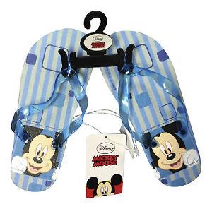 f26bb6d2bb6613 1 Pair Disney Mickey Mouse flip flops beach sandals shoe for Boys ...