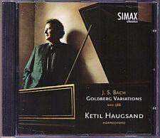 BACH Goldberg Variations BWV988 Ketil HAUGSAND Simax CD Variationen