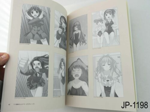 Toradora Pictures Yasu Illustrations Japanese Artbook Fanbook Japan US Seller