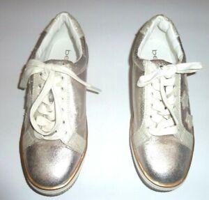 BeBe Sport Women's Shoes Metallic Gold