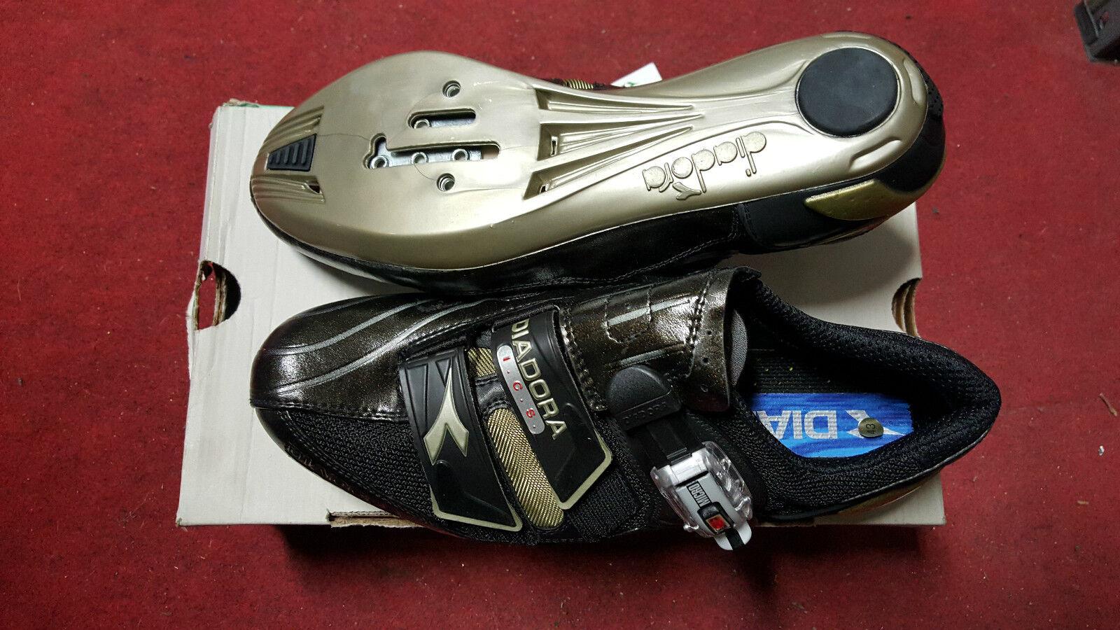 Scarpe bici corsa Diadora Gara 42 43 racing road bike scarpe