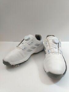 Adidas Adipower BOA Leather Golf Shoe Soft White Bounce Sz: 6.5 ...