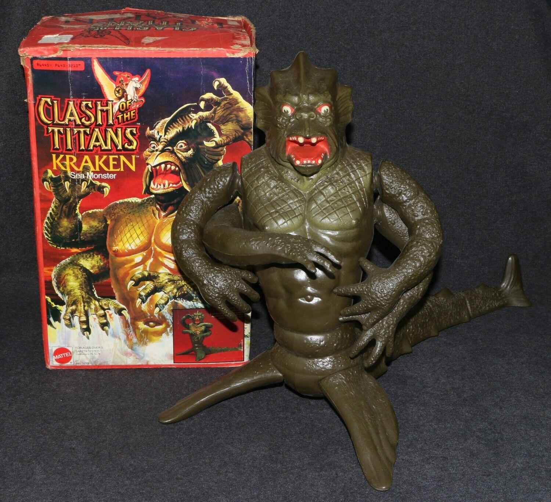 Mattel 1980 Clash of the Titans Kraken MIB