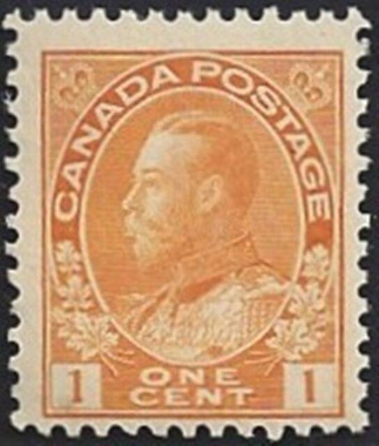 Canada  # 105  King George V Admiral Issue   Brand New 1922 Original Gum      03
