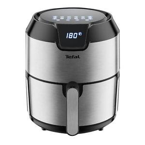 Tefal-EY-401D-Easy-Fry-Deluxe-Heissluftfritteuse-4-2-Liter-1500-Watt-Edelstahl