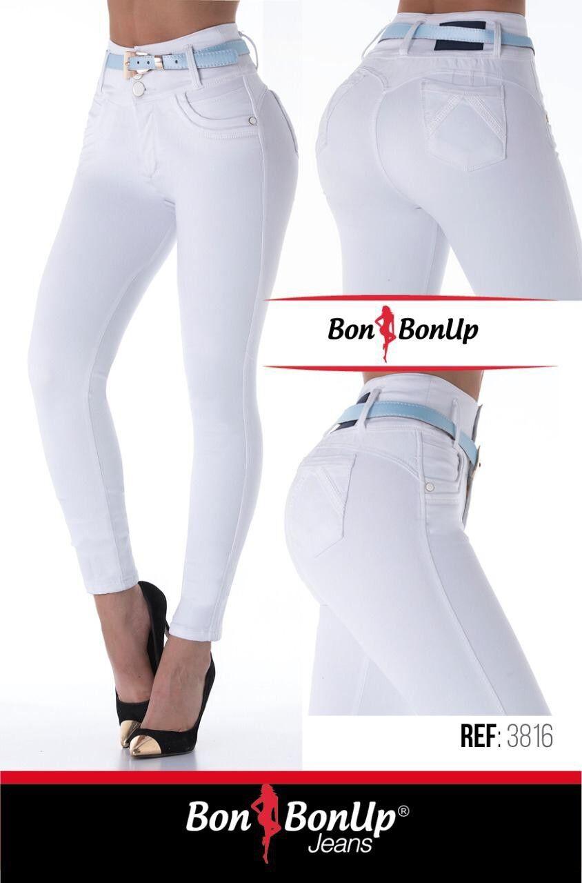 Jeans colombianos butt lifter fajas colombianas levanta cola Bon Bon Up 3816