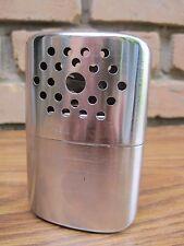 Vintage Metal Hand Warmer Pocket Tin Burner Hong Kong