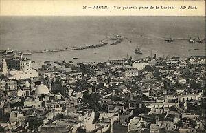 Algier-Alger-Algerien-al-Dschaz-ir-1910-Vue-generale-prise-de-la-casbah-Kasbah