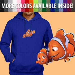 Nemo Dory Finding Marlin Sweatshirt Sweater Hoodie Pullover Dad Clownfish Disney q75Hdn5wBx
