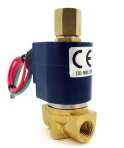 1-4-034-Solenoid-Valve-3-WAY-12VDC-12-volt-DC-inlet-outlet-exhaust-air-etc-B30V