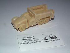 WWII GERMAN KRUPP SDKFZ 70 TRUCK RESIN MODEL KIT - G36
