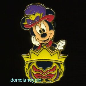 Tokyo Disney Resort Game Prize Pin Disney SEA 10th Anniversary Mickey Minnie