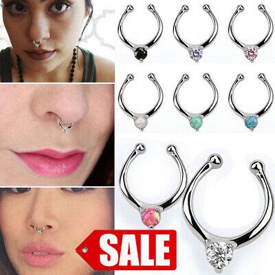 Nose Ring Ball Endless Your Choice Of Metals Precious /& Semi Precious