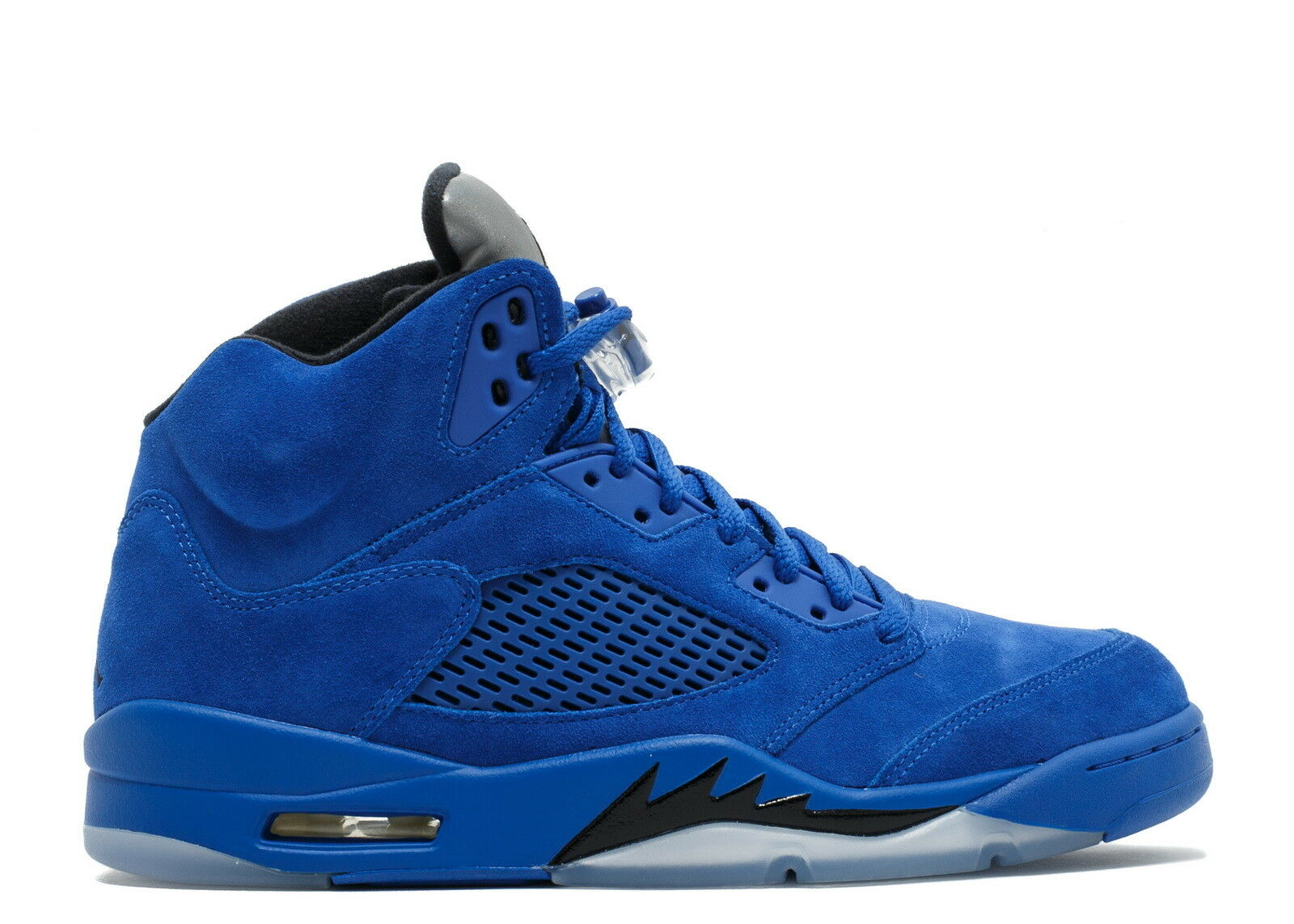 Air Jordan 5 Retro Blue Suede Game Royal Black 136027-401 Mens New