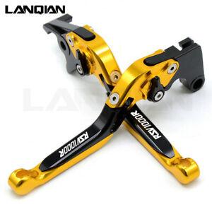 For-Aprilia-RSV1000R-RSV-MILLE-2004-2008-Gold-amp-Black-Folding-Brake-Clutch-Levers