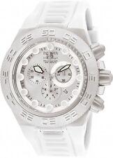 Invicta Men's Subaqua 50mm Swiss Chrono White Silicone Watch 1536