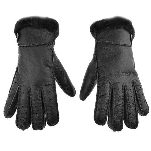 Frauen Winter-warme Schaffell-Wolle verdicken volle Finger-Handschuhe