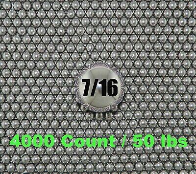 7//16  STEEL SLINGSHOT BALLS 50 count