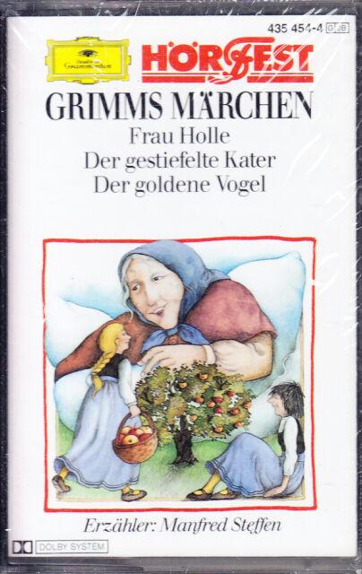 MC Grimms Märchen 4 - Frau Holle / der gestiefelte Kater - DGG - NEU/OVP